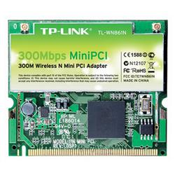 TP-LINK WIRELESS TL-WN861N MINIPCI NOTEBOOK