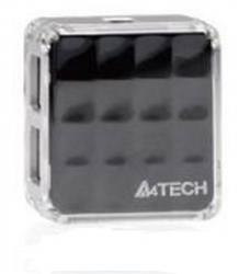 A4TECH HUB-56-4 USB X4 2.0 REAL BLACK
