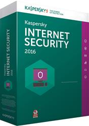 SOFTWARE KASPERSKY ANTIVIRUS INTERNET SECURITY 2016 5 PC