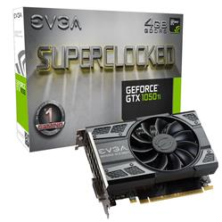 PLACA DE VIDEO EVGA GF GTX 1050TI FTW 4GB DDR5 PCIE