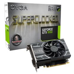 PLACA DE VIDEO EVGA GF GTX 1050 2GB DDR5 GAMING  SC