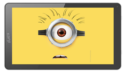 "TABLET KANJI CATA 10"" MINION QUAD CORE 1GB HD 16GB BLUETOOTH DOBLE CAMARA FUNDA"