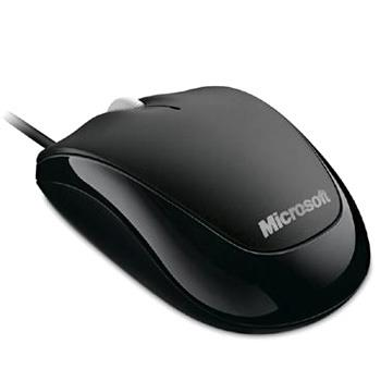 MOUSE MICROSOFT COMPACT OPTICAL 500 BLACK u81-00010