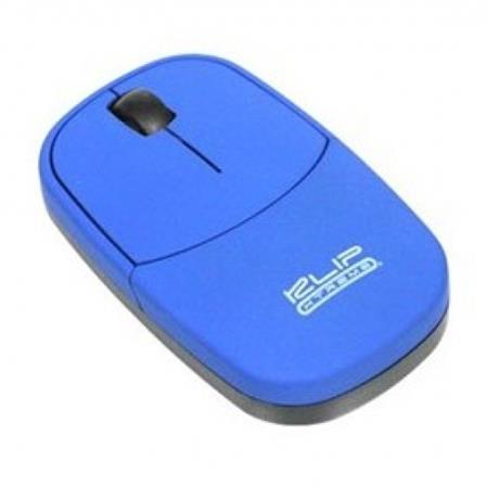 MOUSE KLIP WIRELESS SLIM BLUE KMW-060A