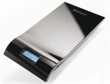 DISCO RIGIDO EXT 500GB VERBATIM INSIGHT C/DISPLAY USB