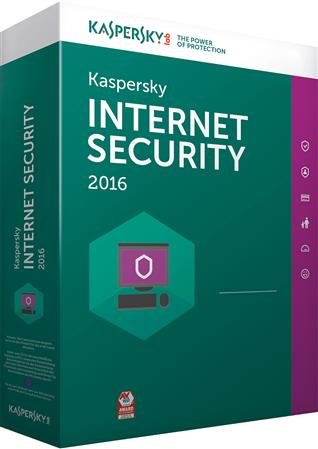 SOFTWARE KASPERSKY ANTIVIRUS INTERNET SECURITY 2016 1 PC