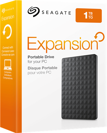 DISCO RIGIDO EXT 1TERA SEAGATE EXPANSION USB 3.0