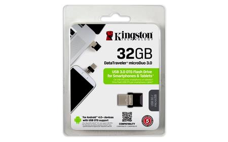 PENDRIVE OTG 32GB KINGSTON DTDUO3 USB 3.0