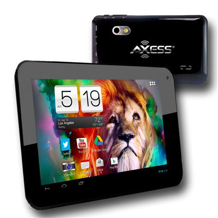 "TABLET. 7"" AXESS  TA2510-7BK DUAL CAMERA A7 CORTEX WIFI 4.2 HDMI"
