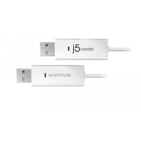 CABLE USB TRANSFER WORMHOLE JUC100 WINDOWS-WINDOWS/ANDROID-WIND/IPAD