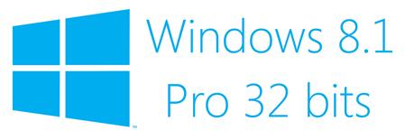 SOFTWARE WINDOWS PRO 8.1 32 BITS OEM