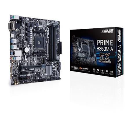 MOTHERBOARD ASUS B350M-A PRIME AM4