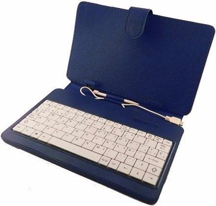"ACCES. TABLET FUNDA CON TECLADO KELYX 10"" DLE-10-BW BLUE"