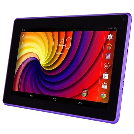 "TABLET. 9"" D2PAD D2-962G PURPLE 1GB 8GB 4.2 DOBLE CAMARA BT  FUNDA,TECL PURPLE"