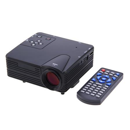 PROYECTOR LED MINI H80 DIGITAL 80 LUMENES HDMI SD USB AV VGA