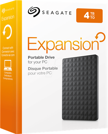 DISCO RIGIDO EXT 4TERA SEAGATE EXPANSION USB 3.0