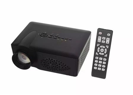 PROYECTOR LED MINI T-RAY 80 LUMENES HDMI SD USB AV VGA TV