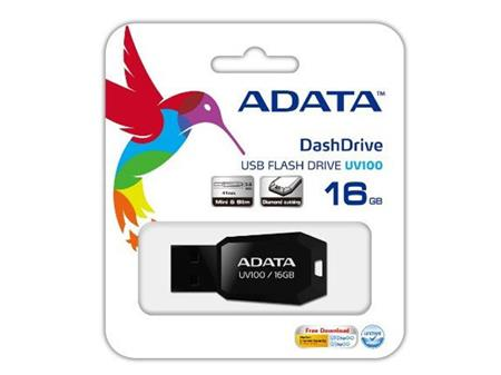 PENDRIVE 16GB ADATA AUV100 MINI USB