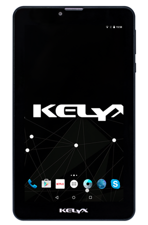 "TABLET. 7"" KELYX W7703G 1GB/16GB/INTEL SOFIA/3G/BT INCLUYE FUNDA"