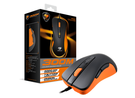 MOUSE COUGAR 300M ORANGE USB