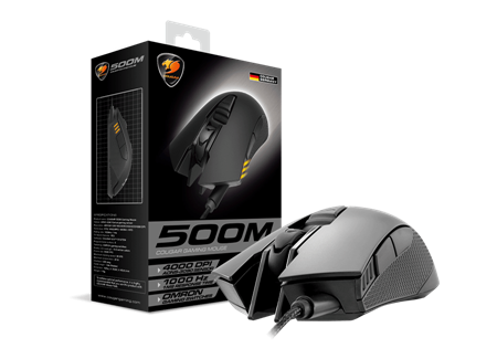 MOUSE COUGAR 500M BLACK USB