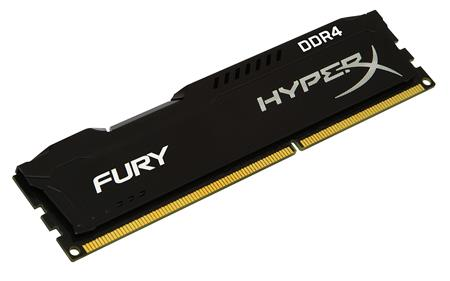 MEMORIA DDR4 8GB 2400 KINGSTON HYPERX FURY BLACK