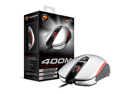MOUSE COUGAR 400M GREY USB