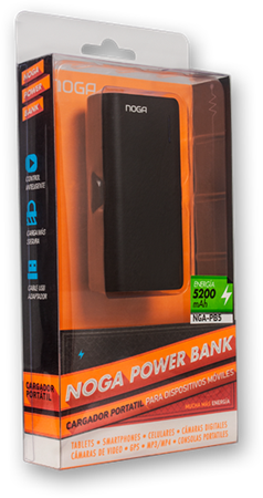 POWER BANK NOGA NGA-PB5 5200MAH