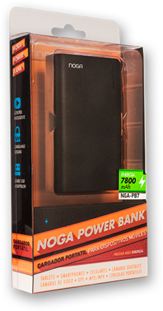 POWER BANK NOGA NGA-PB7 7800MAH