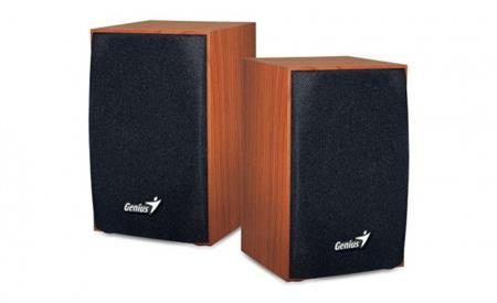 PARLANTES GENIUS SP-HF160 USB WOOD 2.0
