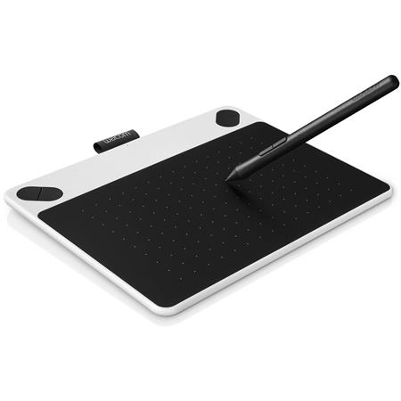 TABLETA GRAFICA WACOM INTUOS DRAW SMALL WHITE WAC-CTL-490DW
