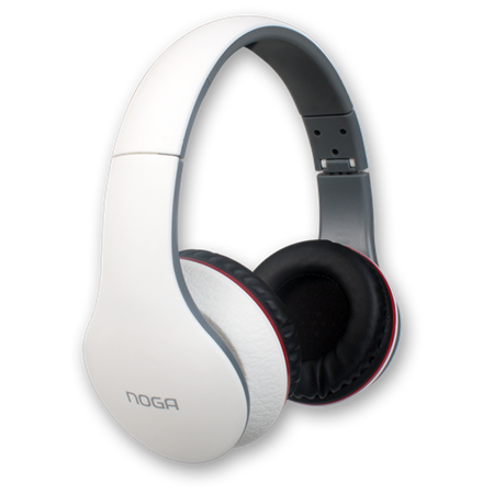 AURICULAR NOGA X-2550BL FIT COLOR BLANCO PC/MP3