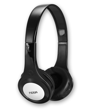 AURICULAR NOGA X-4600 FIT COLOR NEGRO RUBBER