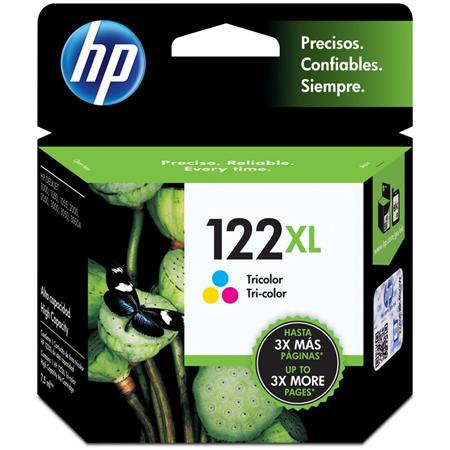 CARTUCHO HP 122XL TRICOLOR CH564HL