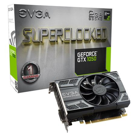 PLACA DE VIDEO GF EVGA GTX 1050 GAMING SC 2GB GDDR5 128bit PCIE
