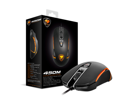 MOUSE COUGAR 450M BLACK USB