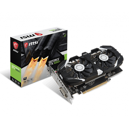 PLACA DE VIDEO GF MSI GTX 1050Ti OC 4GB GDDR5 128bit PCIE