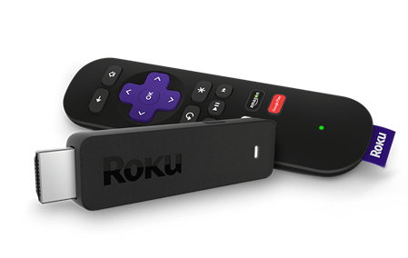 ROKU STICK 3600XB STREAMING MEDIA PLAYER NETFLIX YOUTUBE