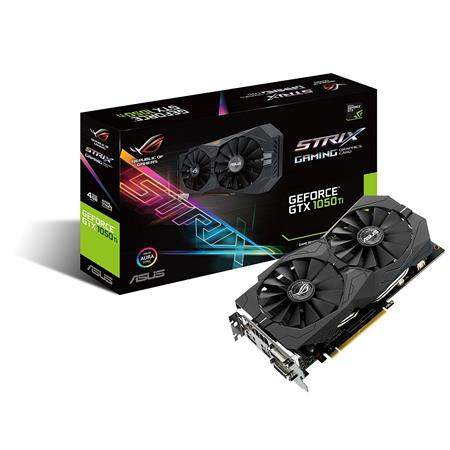 PLACA DE VIDEO GF ASUS GTX 1050Ti STRIX GAMING 4GB GDDR5 128bit PCIE