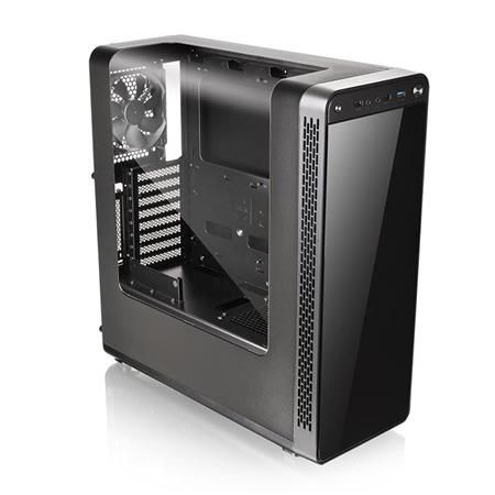 GABINETE ATX THERMALTAKE VIEW 27 BLACK RIING 12 RED