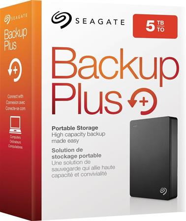 DISCO RIGIDO EXT 5TERA SEAGATE BACKUP PLUS USB 3.0