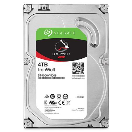 DISCO RIGIDO 4TERA SEAGATE IRONWOLF 5900 64MB NAS RAID