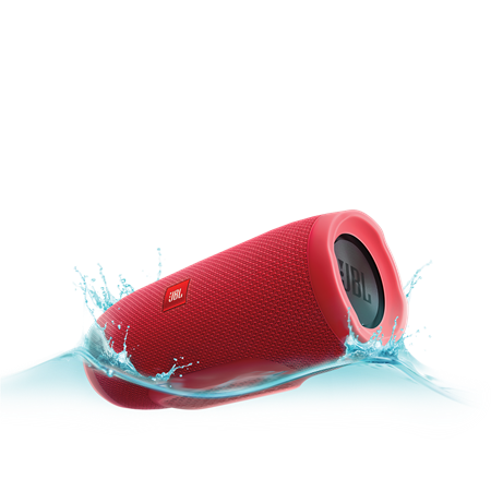 PARLANTE JBL CHARGE 3 WIRELESS BLUETOOTH RED