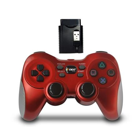 JOYSTICK NEO GPW300 BLACK/RED PC/PS2/PS3