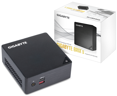 MINI PC GIGABYTE BRIX BKI3HA-7100 i3-7100