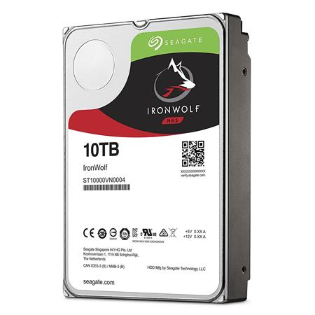 DISCO RIGIDO 10TERA SEAGATE IRONWOLF 7200 256MB NAS RAID