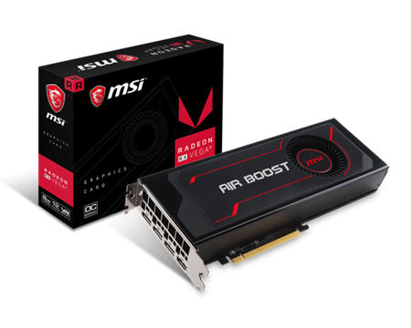 PLACA DE VIDEO MSI RADEON RX VEGA 56 AIR BOOST 8GB OC PCIE