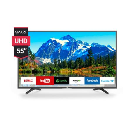 "TV LED SMART 55"" BGH BLE5517RTUI TDA LED NETFLIX UHD 4K"