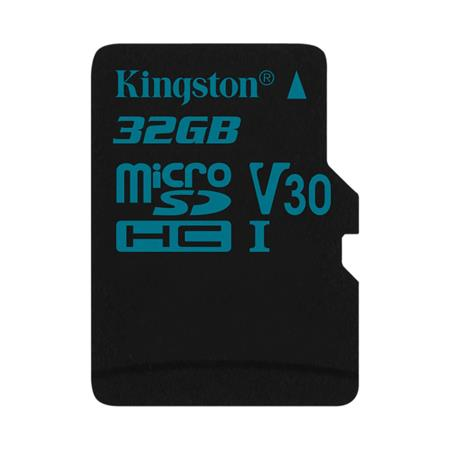 TARJETA DE MEMORIA MICROSD 32GB KINGSTON CANVAS GO! V30 U3 4K 90MB/S