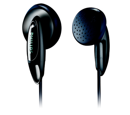 AURICULAR S/MIC IN EAR PHILIPS SHE 1350 NEGRO